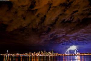seattle lightning by stranj