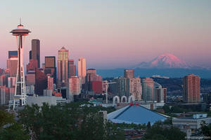 sunset at kerry park by stranj