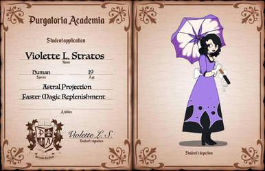 Violette app by MythicsGo