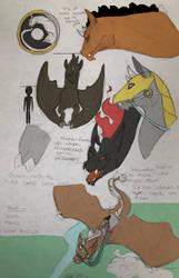 Rough Sketch Concept design: Dracorin by MythicsGo