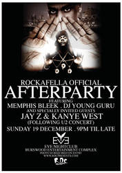 Jay Z Afterparty by jeanpaul