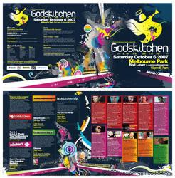 GK Flyer double sided, folded by jeanpaul