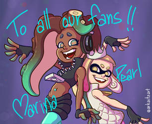 To all our fans with love!! by ArkaitzIlustracion