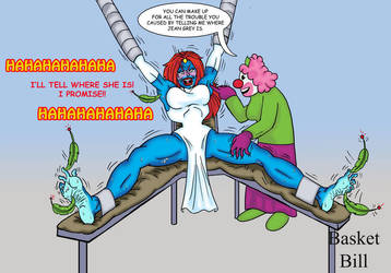 Mystique Punishment by whotwolf
