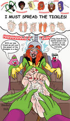 Jean Grey tickled to Surrender by whotwolf