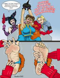 Chun-li Tickled Silly by whotwolf