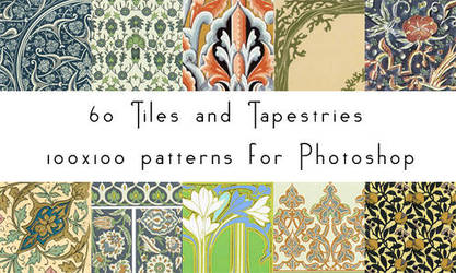 Tiles and Tapestries 100x100 by dropdeadred
