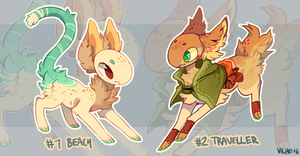 Fishlings Auction [OPEN!] by vilhoadopts