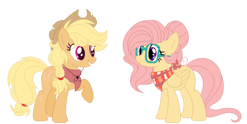 Next Gen. Apples And Shy by Bezziie