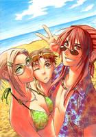 SotD Goes Beaching by maaria