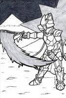 Inktober 2018-27 Legend Rez Star by ShadowEclipex