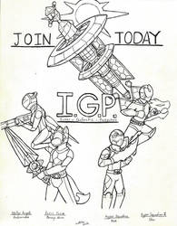 IGP Recruitment Poster by ShadowEclipex