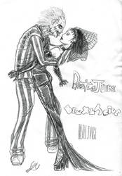 Beetlejuice and Lydia by Ec87