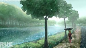rainy day by rudy-sumarso