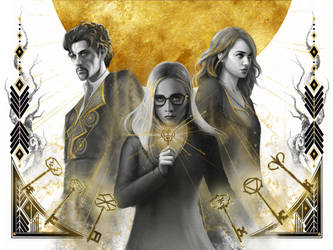 The Magicians Fan Art: Unlocking the clouded mind by rudy-sumarso