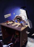 Identity Thief by LolosArt
