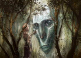 Forest Deity by LolosArt