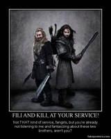 The Hobbit Motivational Poster by kilnorc