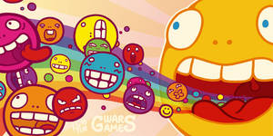 Gwars DS Lite skin - Cover by catiniata