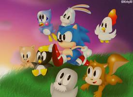 Sonic's 'REAL' Friends by Jdoesstuff