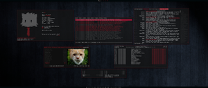 [arch] [awesomewm] Home Desktop August 2013 by f-s0ciety