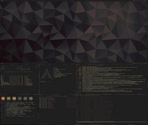 [arch] [bspwm] Desktop Feb 2015 by f-s0ciety