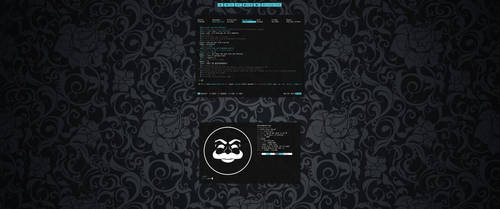 [bspwm] [arch] Blue Man Group Desktop April 2016 by f-s0ciety