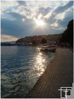 A Glimpse Of Lake Ohrid -1- by ArtBIT