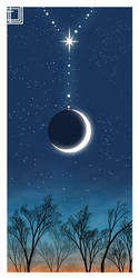 Moon Necklace by ArtBIT
