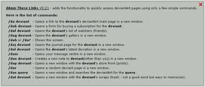 dAmn those links v0.27 by ArtBIT