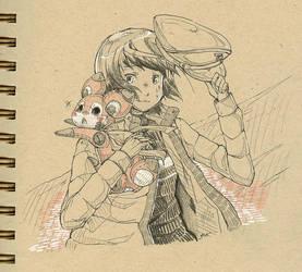 Haruo et Amy by explosante