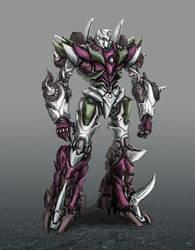 Decepticon Sixshot by Diovega