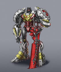 Forever Grimlock by Diovega