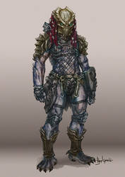 Predator Concept - Red Head by Diovega