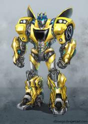 Bumblebee Prime (Goldbug) by Diovega
