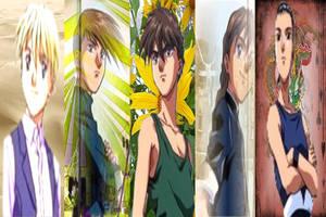 Gundam Boys by Fireflyhikari