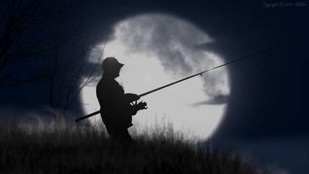 Midnight fishing.. by Nela23235