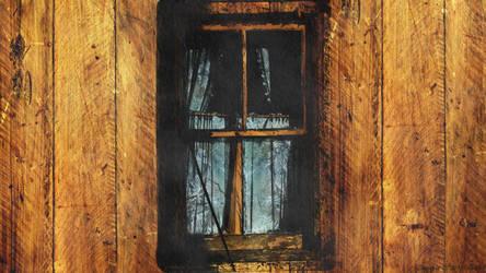 Winter through the window by Nela23235