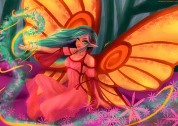 Fairy Aurora by ChiseShan