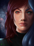 Ruby, killer or saviour?-Redraw of an old painting by ChiseShan