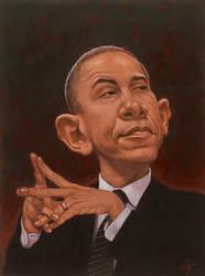 Obama by cfpayne