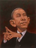 Obama by cfpayne