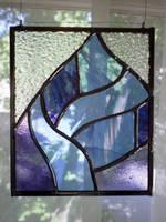 Blue leaf by ioglass