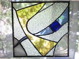 Yellow-blue Square by ioglass