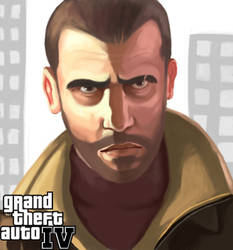 GTA4: NIKO BELLIC by Emico