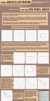 TUTORIAL: Basic Illustrator Part 3 by SapphireKat