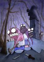 Zombies by Peekislabis
