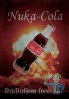 Fallout 3 : Nuka Cola by Mergorti