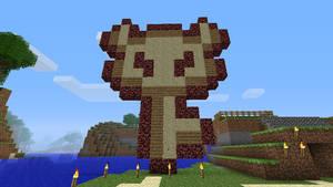 Minecraft, Zelda : the boss key by Mergorti