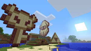 Minecraft, Mario : blooper by Mergorti